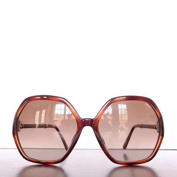 afdf01d58fdf Chloe Accessories - Chloe Sunglasses Light Havana Hexagon CE638SL 214